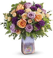 Amethyst Sunrise Bouquet Flowers